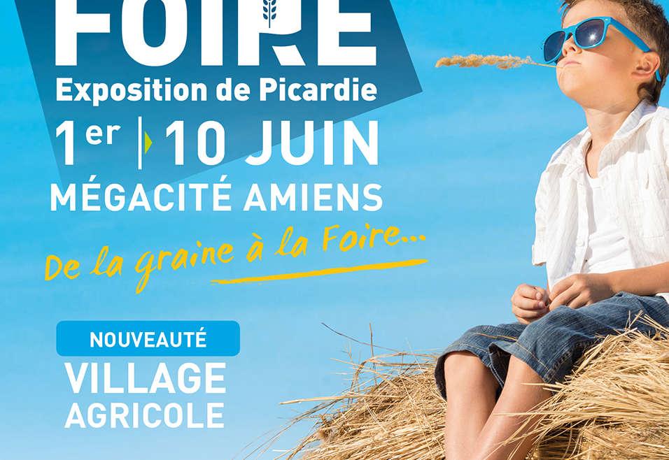 Venez nous rencontrer à la Foire Exposition d'Amiens